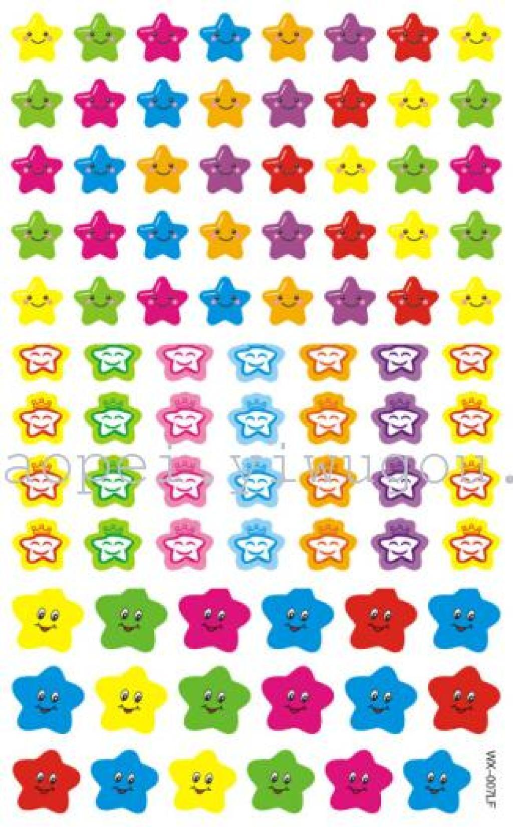 幼儿园老师表扬鼓励礼品不干胶贴纸