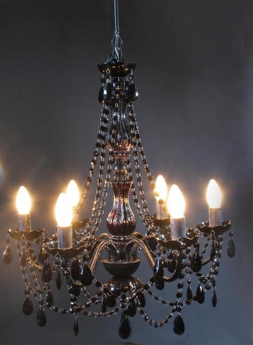 Balcony bedroom General L65766 black classic chandelier chandeliers wholesale