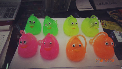 Call ducks, TPR toys glow toys