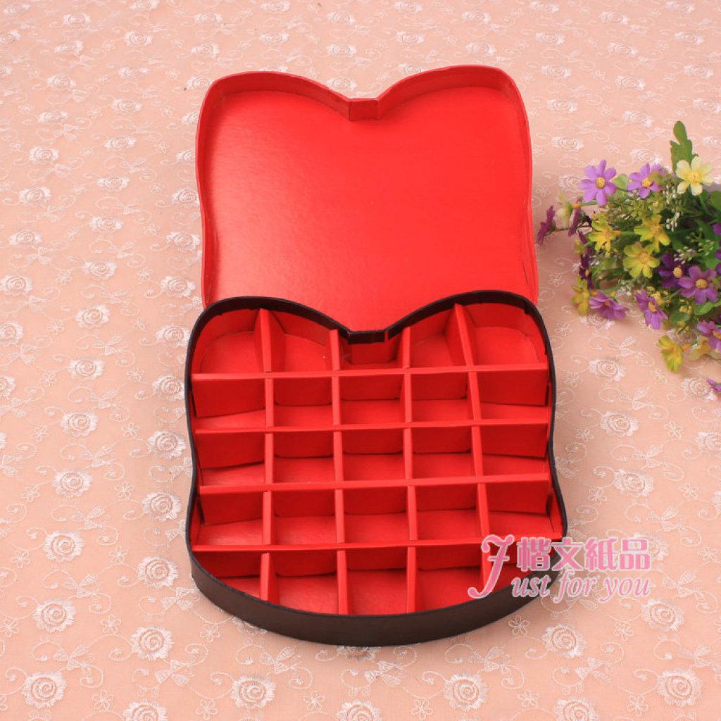 创意可爱卡通阿狸巧克力盒25格精美包装盒图片