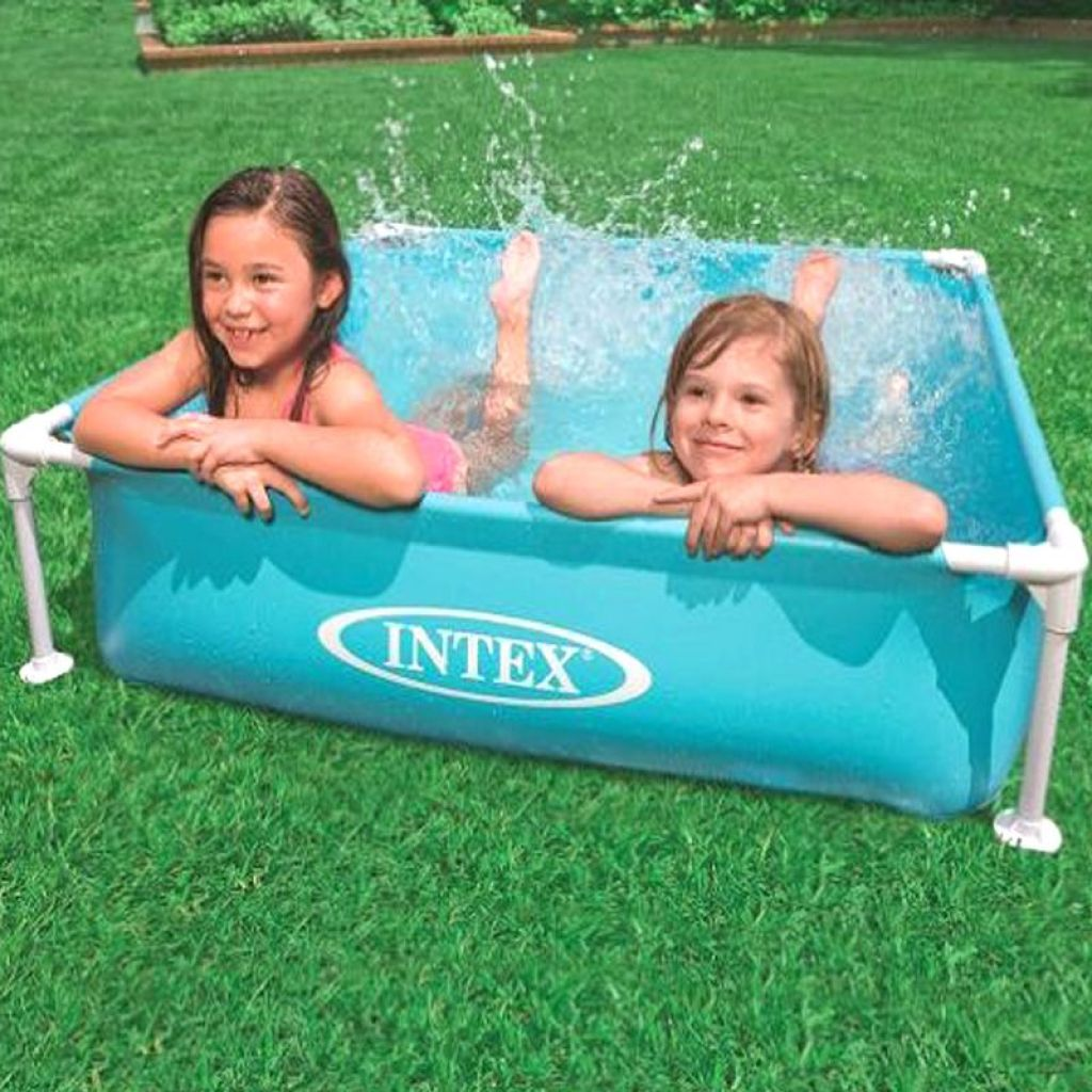 INTEX57173 Mini Square Pipe Frame Pool Sea Children Swimming Play Basin