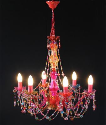 Colourful boutique European chandelier L66463 chandelier wholesale