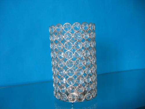 LT1424 top-selling craft Crystal candle holder