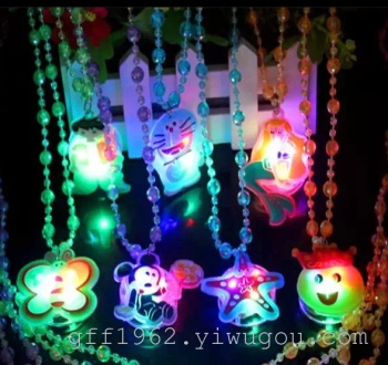 New exotic cartoon soft glow necklaces