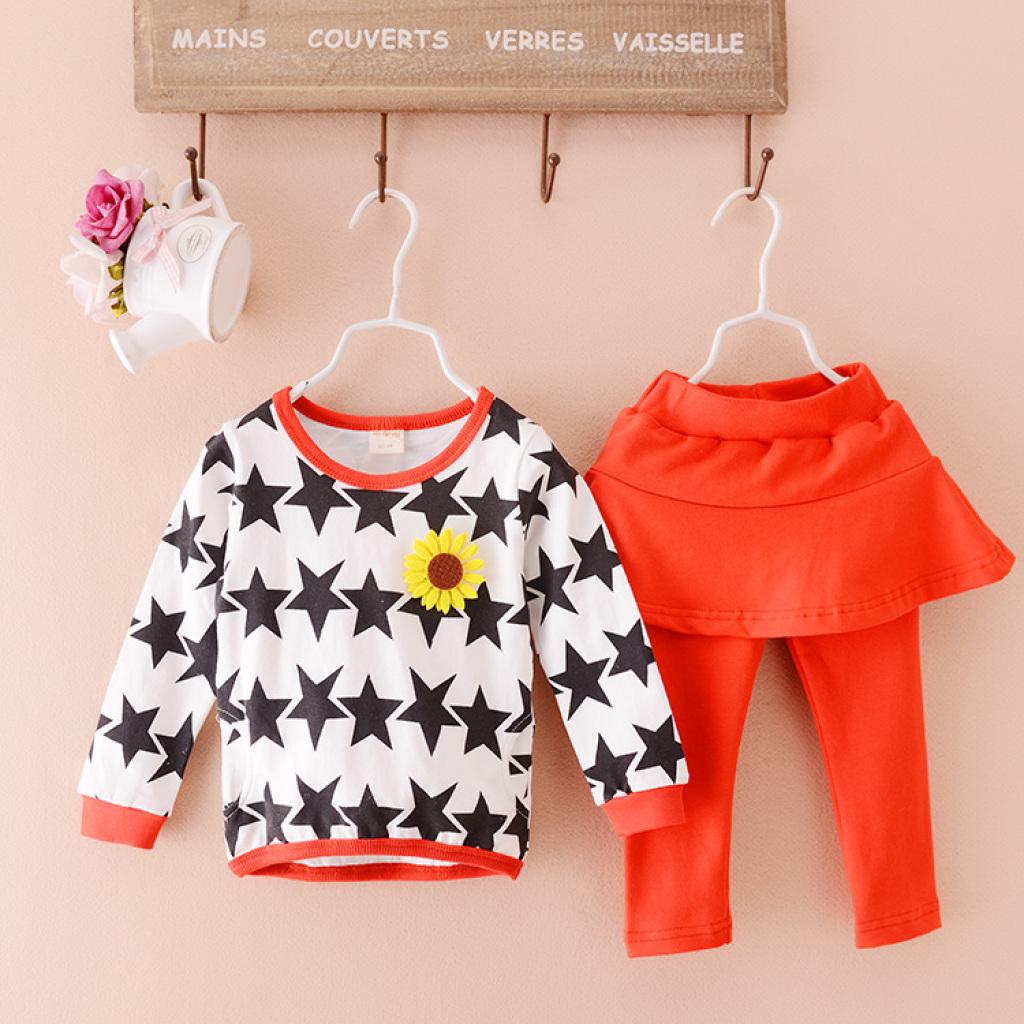 t7小一峰婴幼儿服装 时尚春款套装