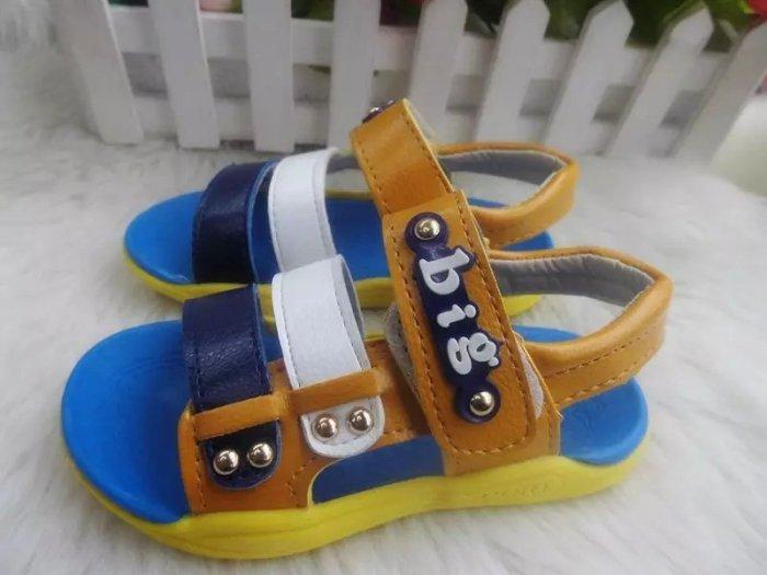 2015新款儿童凉鞋男女童露趾沙滩鞋防滑软底厂家直销