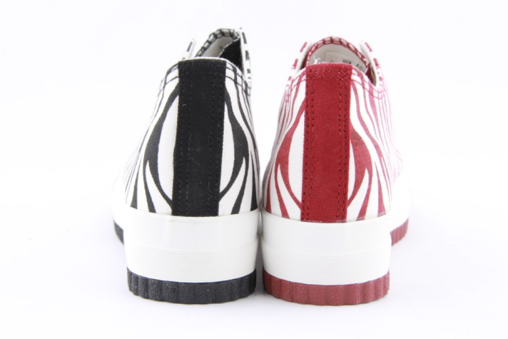 回力新款 条纹 休闲鞋
