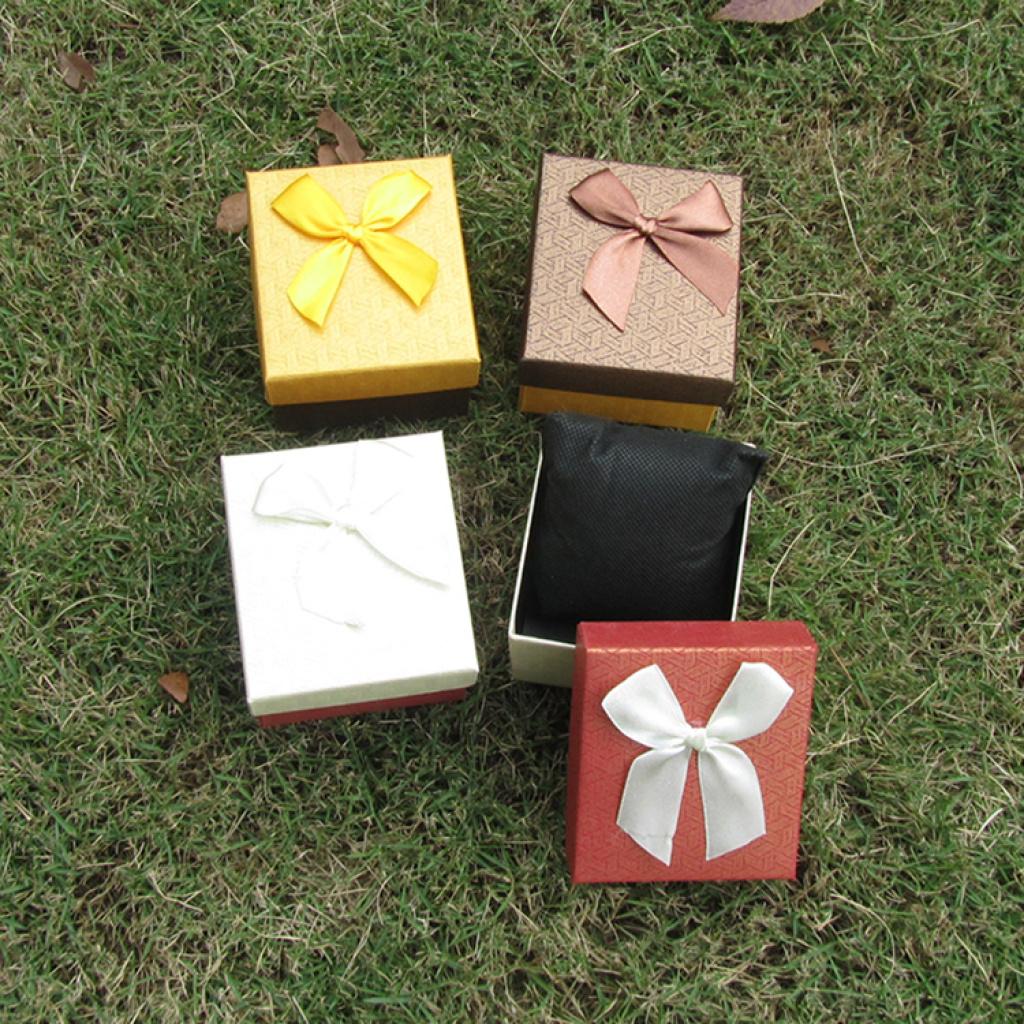 时尚手表盒批发 蝴蝶结礼品盒 首饰盒包装盒 纸盒