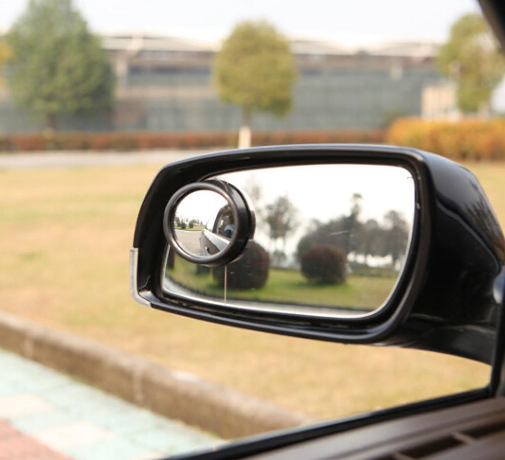 后视镜小圆镜 盲点镜车用倒车镜 汽车后视镜 带360度旋转