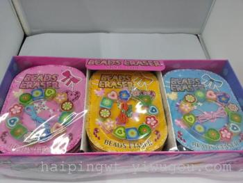 Wholesale rubber bracelets rubber toy erasers of love-rubber