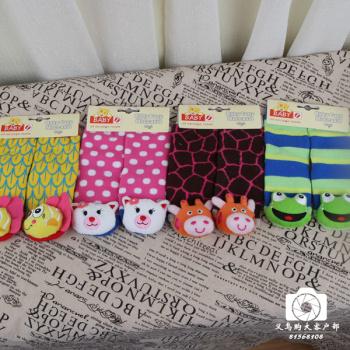 Children baby socks floor socks towel socks dolls head 12-18