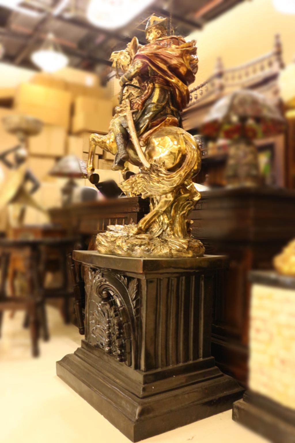 拿破仑凯旋大型欧式雕塑摆件摆设工艺品别墅庭院酒店图片