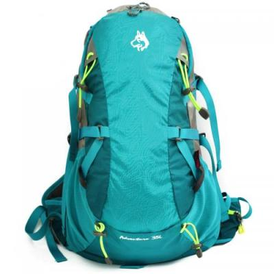 Outdoor backpack camping riding package rainproof tear resistant nylon fabric spot