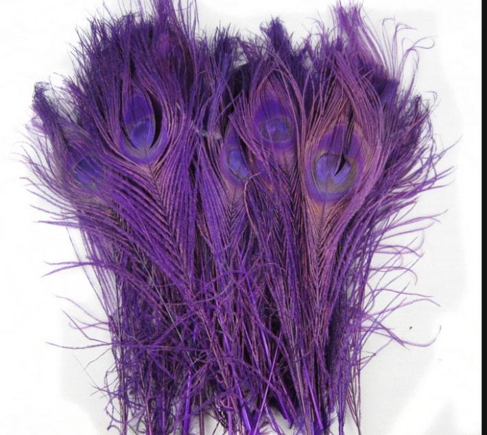 【特价促销】羽毛厂*供应孔雀毛25-30cm*天然孔雀毛
