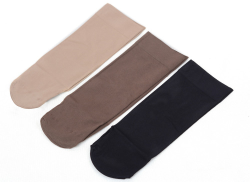 268 short velvet padded Socks-Women socks stockings plate piles of socks