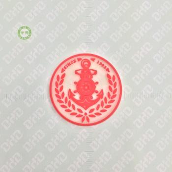カスタムの PVC プラスチック ドロップ服柔らかいゲル ゴム皮膚シリコンの装飾的な旗
