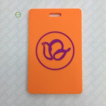 pvcの柔らかいシリコーンゴム・プラスチックゴムのパスの広告創造的な贈り物荷物タグボード