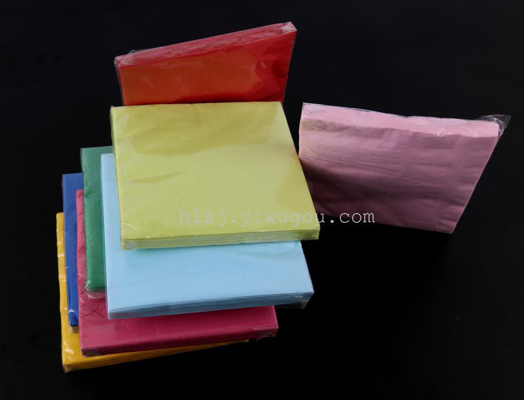 透明opp包装正方形纯色纸片