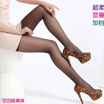 Slim and thin pantyhose stockings super soft silk spun woven Ai Yisi ultra-low-loss price