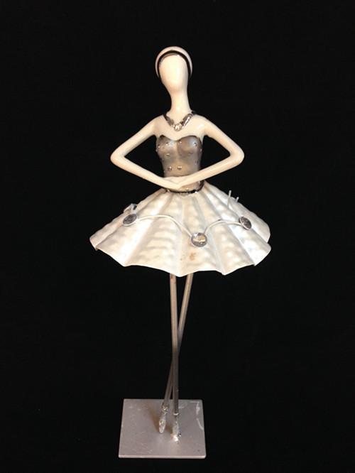 铁艺芭蕾舞创意客厅摆设摆件家居装饰品陶瓷工艺品式