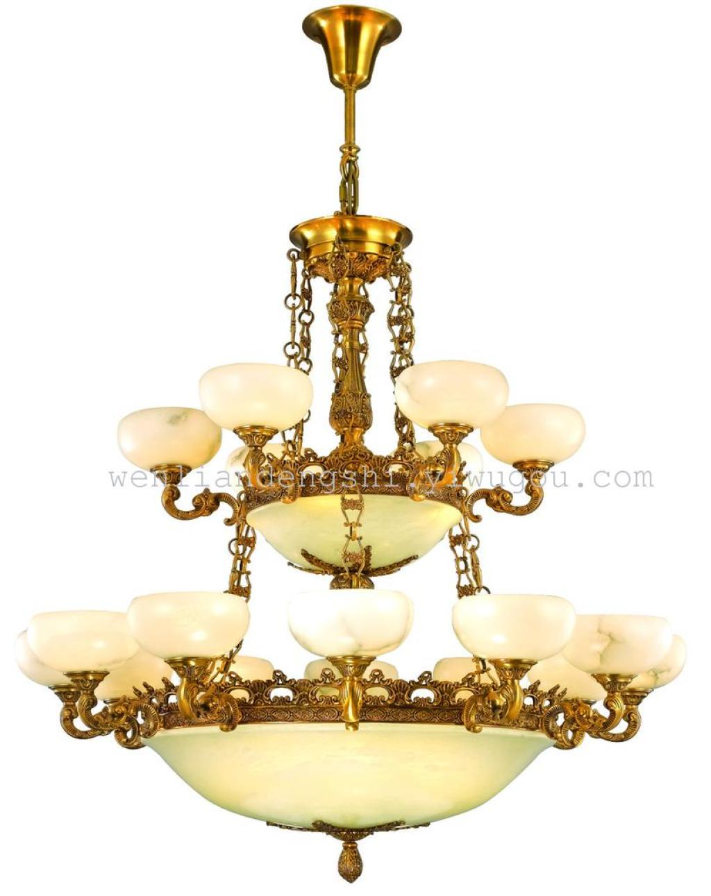 欧式吊灯全铜灯 仿古客厅灯别墅欧式吊灯欧式灯具