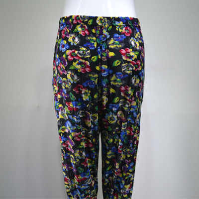 Cropped pants cropped harem pants in elderly women pants leggings