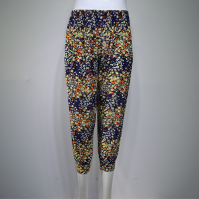 Cropped pants cropped harem pants in elderly women pants leggings