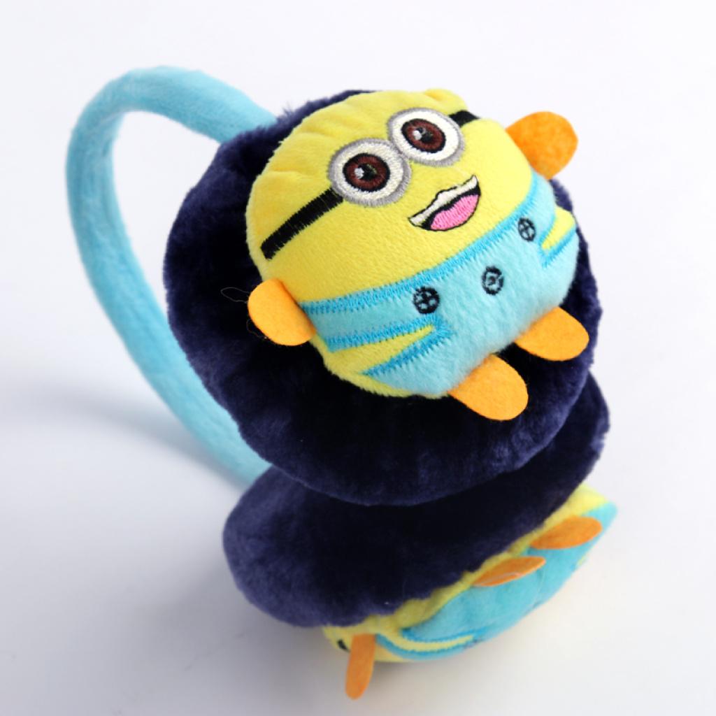 冰歌新款冬季可爱卡通超萌儿童保暖耳罩货号a1014