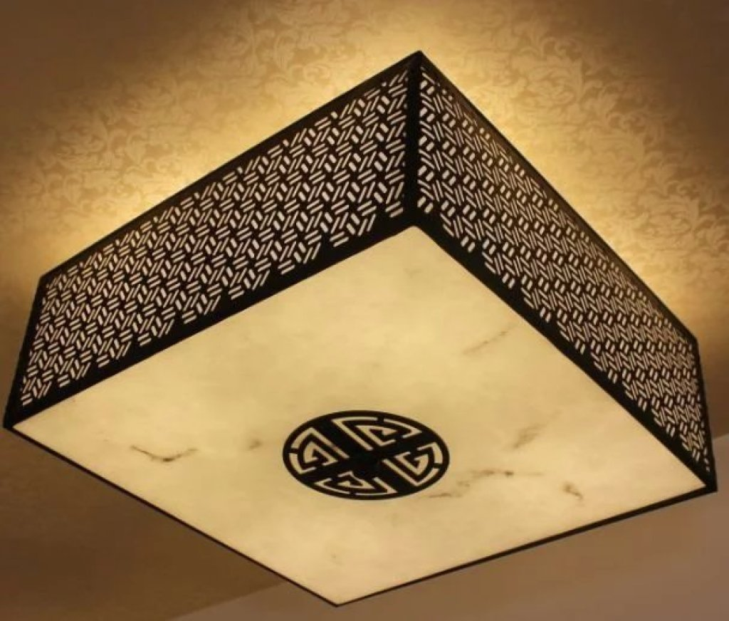 新中式灯图片