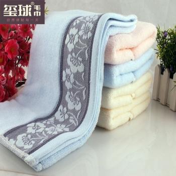 Твист Бесплатная абсорбирующей ткани полотенце торговли 6732 полотенце хлопок полотенце пары полотенец оптом