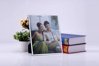 Factory direct Studio wedding photo frames glass photo frame glass set gift box
