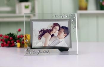 Exquisite glass photo frame set up wedding fashion photo frame photo frame gift photo frame photo frame