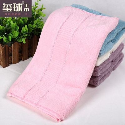 Pure beauty towel dry hair soft absorbent towel cotton towel cotton towel