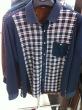 Men's Plaid Shirt as warm-