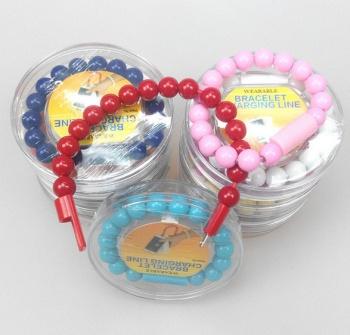 Samsung mobile phones-bead bracelets data charging micro bracelets data cables
