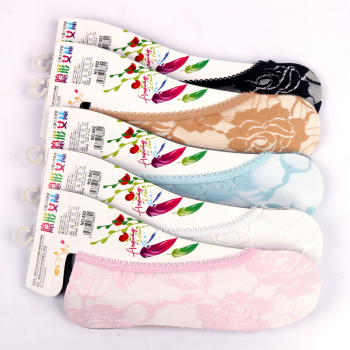 Super stealth socks do not hurt the skin all-match Korean fashion lace socks and women