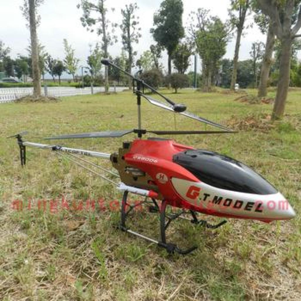 1.34米超大型合金耐摔充电遥控飞机模型直升机qs8006