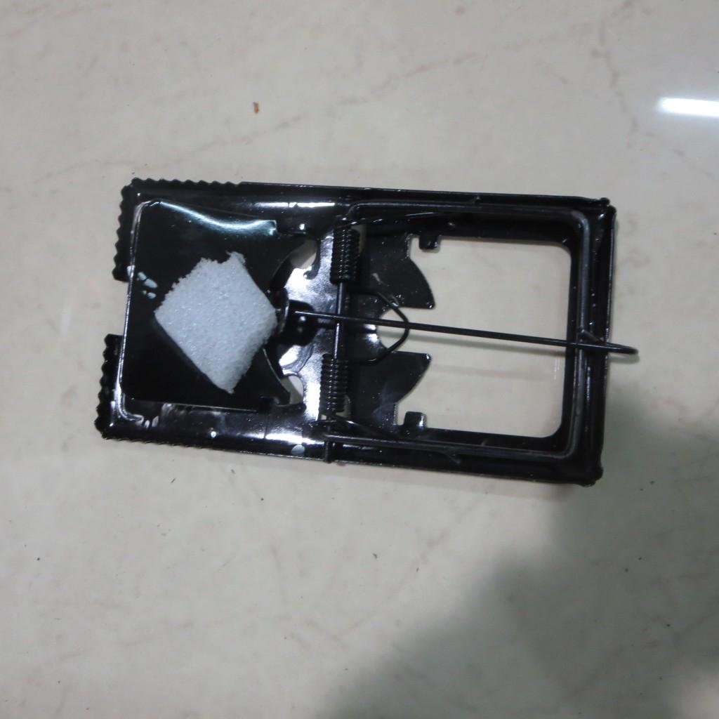 双簧铁制老鼠夹 捕鼠器