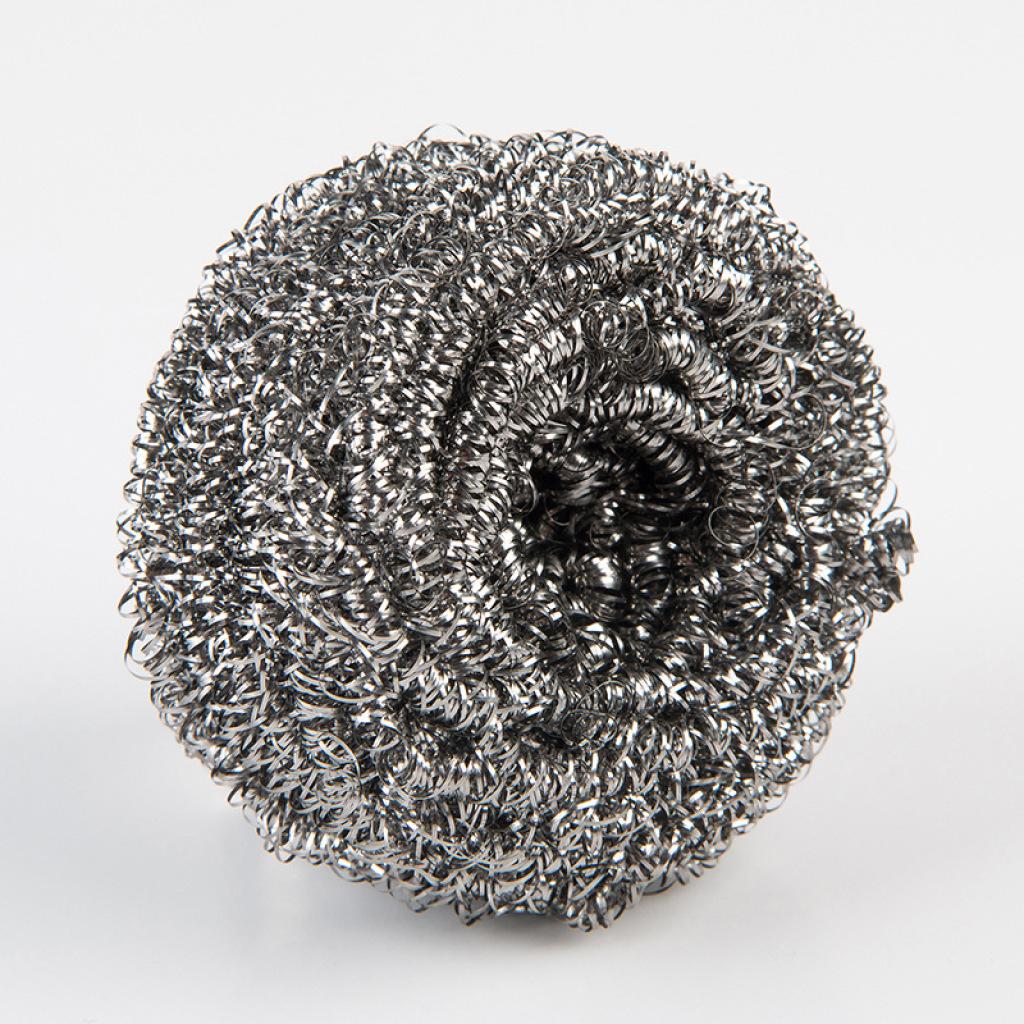 厂家直销 不易生锈一根丝裸装不锈钢圆球钢丝球清洁球