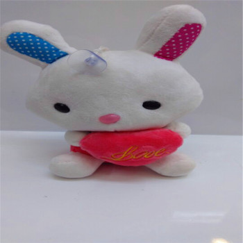 Hold the rabbit print Love cute plush toys manufacturers