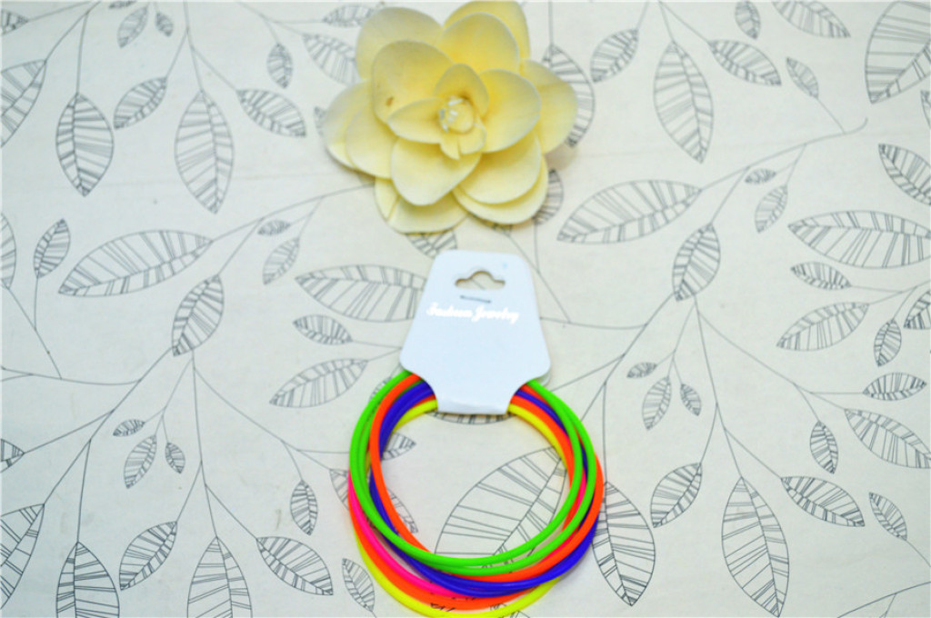 橡皮筋diy彩虹编织机手环混色橡皮筋彩虹手链手环韩版