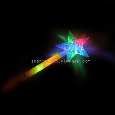 Factory direct flash stick lightsticks star flash stick hot children luminous toy stall
