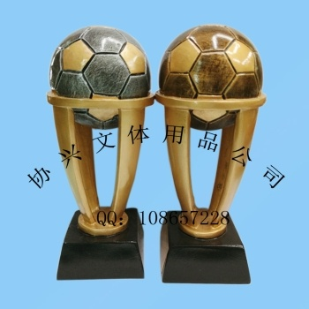 Football trophy medal trophies resin ornaments accessories factory direct resin crafts