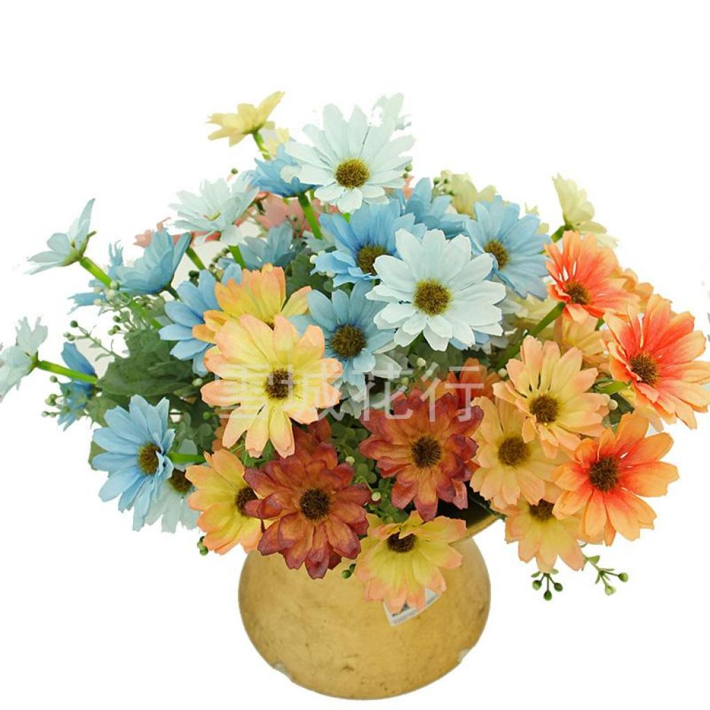 Supply Wholesale artificial flower six Hin ya Ju home decor artificial flower
