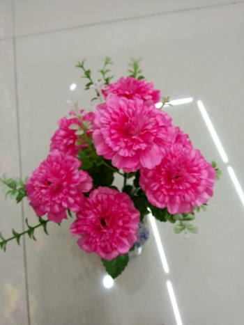 Table decorations silk flowers artificial flowers set the living room coffee table placing flower vases