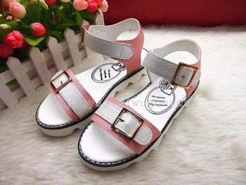 2015夏款女童凉鞋 新款儿童时尚耐磨儿童女凉鞋大童