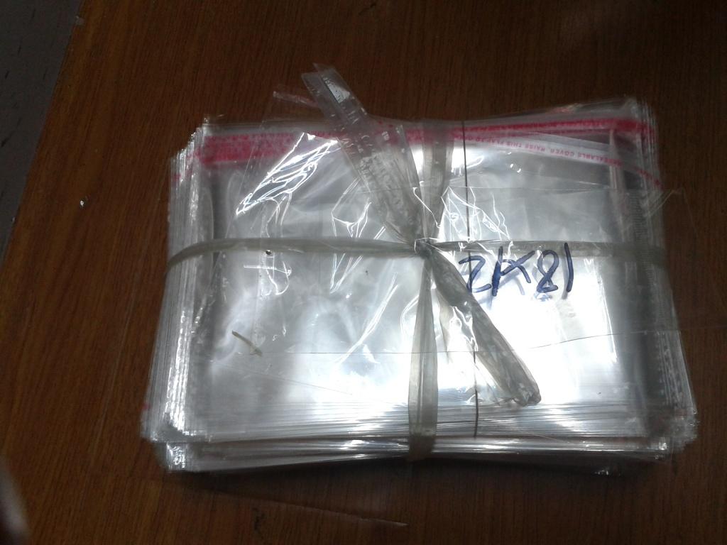 Sacchetto di oPP sacchetto PE Ziplock bag gioielli sacchetti regalo sacchetti lettera fibbia tasca piatta