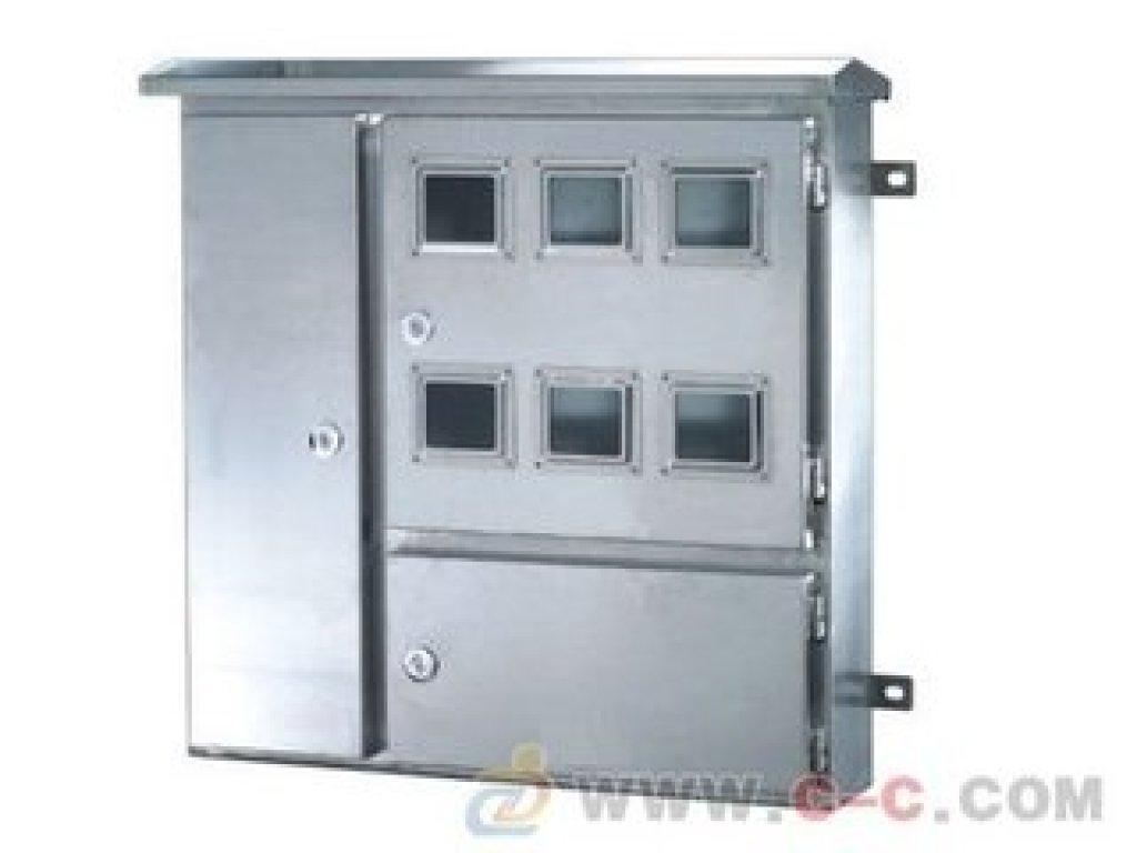 户外不锈钢配电箱 不锈钢三相电表箱 明装电表箱