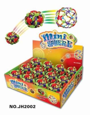 Supply a toy ball. Hula Hoop ball. Flower ball. Morph ball. Color changing ball