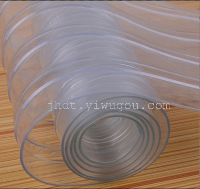 PVC plastic transparent bead curtain fabric inside mosquito air conditioning/windshield/insulated door